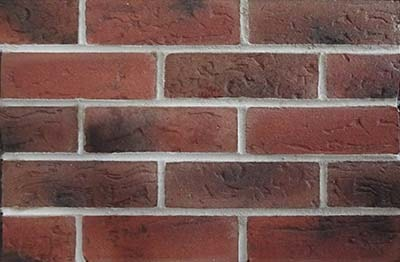 Red brick cladding
